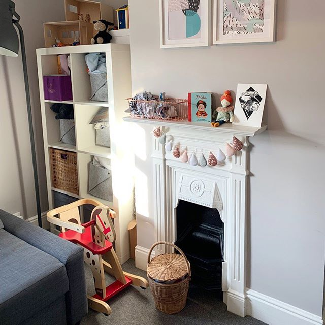 Moving Day • saying goodbye to the grey and hello to the 80s interior today. So excited, fingers crossed all goes ok. … . I will miss these original fireplaces, amazing to have them in the bedrooms. This one is slightly different pattern to the others. … Have a good day everyone!